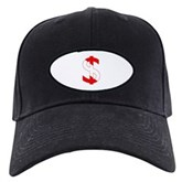 Scuba Flag Dollar Sign Black Cap