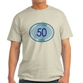 50 Logged Dives Light T-Shirt