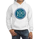 100 Dives Milestone Hooded Sweatshirt