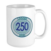 250 Logged Dives Large Mug