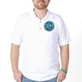 500 Dives Milestone Golf Shirt