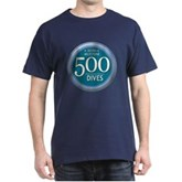 500 Dives Milestone Dark T-Shirt