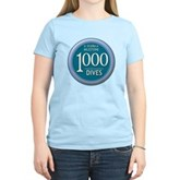 1000 Dives Milestone Women's Light T-Shirt