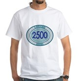 2500 Logged Dives White T-Shirt