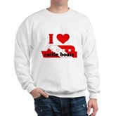 I Love Cattle Boats Sweatshirt