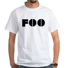 Foo White T-Shirt