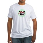 Pirate Panda Fitted T-Shirt