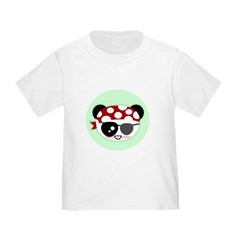 Pirate Panda Infant/Toddler T-Shirt