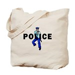 Police Action Tote Bag