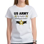 ARMy My Daughter is defending Women's T-Shirt