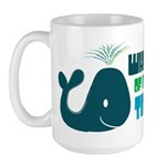 Whale of a Good Time Large Mug