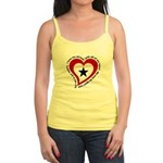Heart service Flag - Airman Jr. Spaghetti Tank