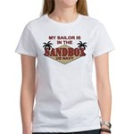 Sailor Sandbox US Navy Women's T-Shirt