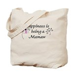 Happiness Is Mamaw Tote Bag