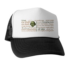 Shakespeare Insults T-shirts & Gifts Trucker Hat