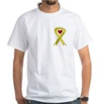 Yellow Ribbon Son-in-law White T-Shirt