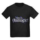 I Believe in Obamagic Kids Dark T-Shirt