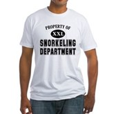 Snorkeling Department Fitted T-Shirt
