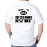  Rescue Diving Department Golf Shirt