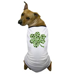 Lucky Irish Shamrock Dog T-Shirt