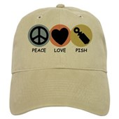  Peace Love Pish Cap