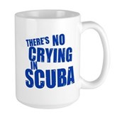 No Crying in Scuba Large Mug
