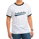 Scubaholic Ringer T