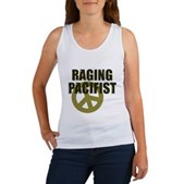Raging Pacifist Women's Tank Top