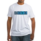 Obama Elements Fitted T-Shirt