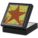 Rusty Star Keepsake Box