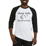 Sleep Safe Sleep with an Airman Baseball Jersey
