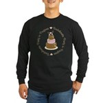 Bachelorette Party in Progress Long Sleeve Dark T-