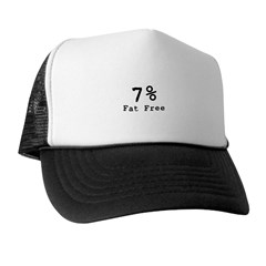 7% Fat Free T-Shirts & Gifts Trucker Hat