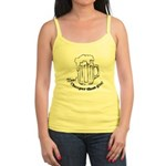 Beer: Now! Cheaper than Gas! Jr. Spaghetti Tank