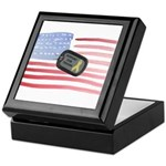 Support Our Troops Keepsake Box