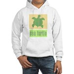 Bar Code Turtle Hooded Sweatshirt