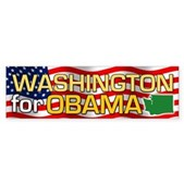 Washington for Obama Bumper Sticker