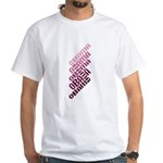 This repeated design in purple & lilac shows the name Obama stacked in diagonal lines. Support Barack Obama for President 2008 in style with this abstract, unique design.