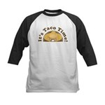 It's Taco Time! Kids Baseball Jersey