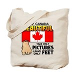Canada Severed Foot Tote Bag