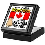 Canada Severed Foot Keepsake Box