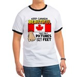 Canada Severed Foot Ringer T