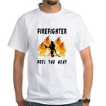 Firefighter Heat White T-Shirt
