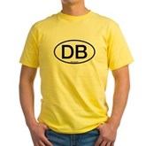 Dive Buddy Oval Yellow T-Shirt