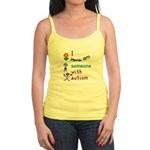 I Am Someone with Autism Jr. Spaghetti Tank