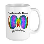 Celebrate Autistic Spectrum Large Mug
