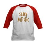 Scary Autistic Kids Baseball Jersey
