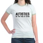 True Voice of Autism Jr. Ringer T-Shirt