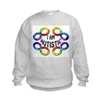 I Am Autistic Kids Sweatshirt