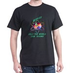 Aspies Spin the World Dark T-Shirt